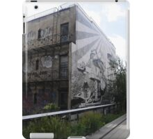 Street Art House from the High Line iPad Case/Skin