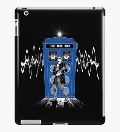 Time Lord Rock iPad Case/Skin
