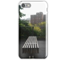 Space for Reflection on the High Line iPhone Case/Skin