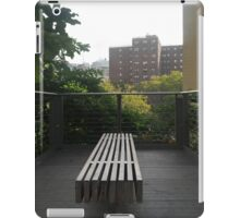 Space for Reflection on the High Line iPad Case/Skin