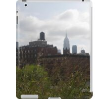 A Distant Empire State, from the High Line iPad Case/Skin