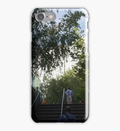 Surveying the High Line iPhone Case/Skin