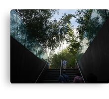 Surveying the High Line Canvas Print