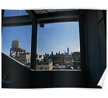 Downtown Manhattan from the Whitney Poster