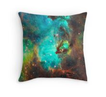 Galaxy / Seahorse / Large Magellanic Cloud / Tarantula Nebula Throw Pillow