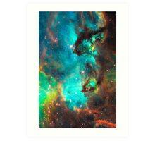 Galaxy / Seahorse / Large Magellanic Cloud / Tarantula Nebula Art Print