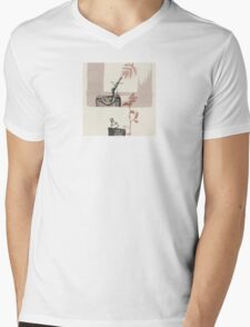 The Trees and the Axe  An Aesop's Wetnose Fable Mens V-Neck T-Shirt