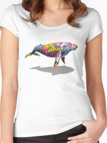 Tagged Whale Women's Fitted Scoop T-Shirt