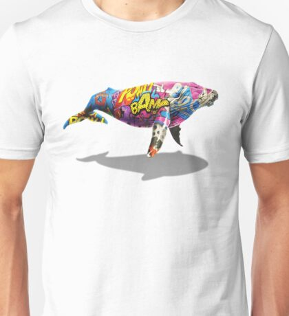 Tagged Whale Unisex T-Shirt