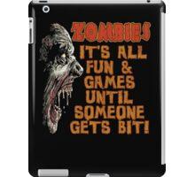 Zombie Fun n' Games iPad Case/Skin
