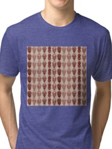 Trilobite Species Pattern Tri-blend T-Shirt