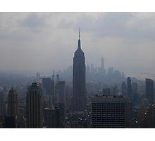 Top of the Rock on a Summer's Day Photographic Print