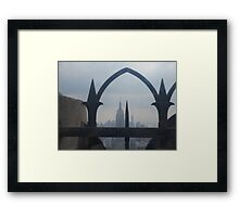 An Arch over New York City  Framed Print