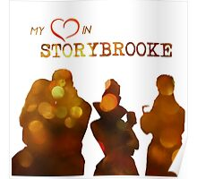 my hearts in storybrooke Poster