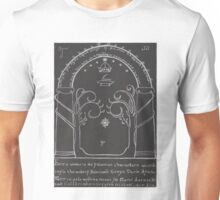 Lord Of The Rings - The Doors Of Durin ( Hand drawn) Unisex T-Shirt