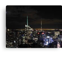 Times Square at Night Canvas Print