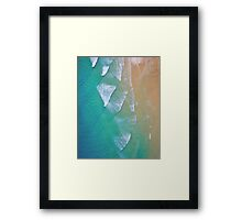 The ocean Framed Print