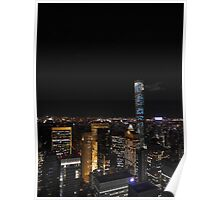 The Lights of Midtown Manhattan Poster