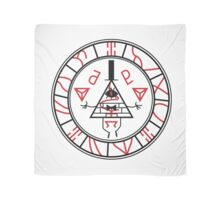 Gravity Falls vs Silent Hill: Seal of Bill Metatron (BLACK VERSION) Scarf