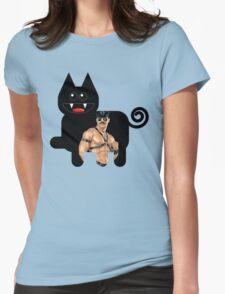 KITTEN 6/6 Womens Fitted T-Shirt