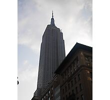 The Empire State Building Standing Tall Photographic Print