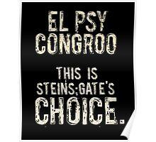 Steins;Gate Poster