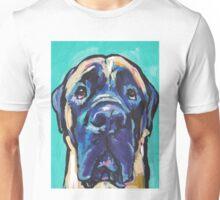 English Mastiff Bright colorful pop dog art Unisex T-Shirt