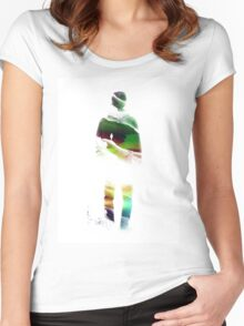 Lucid isolation Women's Fitted Scoop T-Shirt