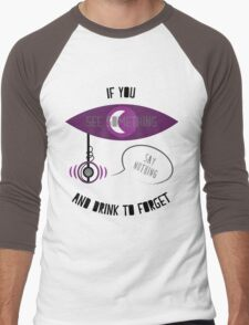 If You See Something Men's Baseball ¾ T-Shirt