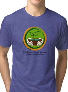 Childers Food Forest Tri-blend T-Shirt