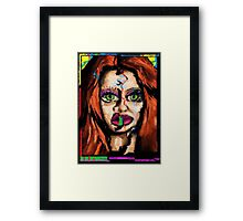 Swimming In Your Ocean, Drowning In Your Sea. Framed Print