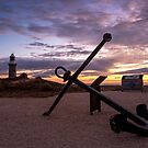 Lighthouse and Anchor by mncphotography