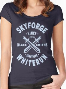 Skyforge Whiterun Women's Fitted Scoop T-Shirt