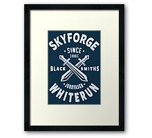 Skyforge Whiterun Framed Print