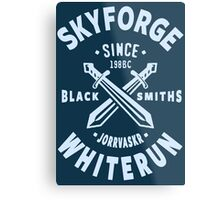 Skyforge Whiterun Metal Print