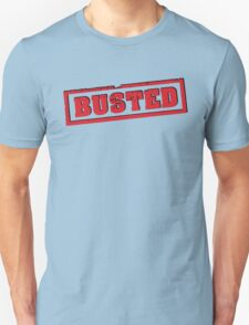 Busted Red T-Shirt