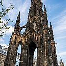 Scott Monument by Stevie B