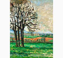 1885 - Paul Cezanne - The Bare Trees at Jas de Bouffan Unisex T-Shirt