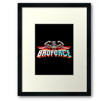 Broforce Framed Print