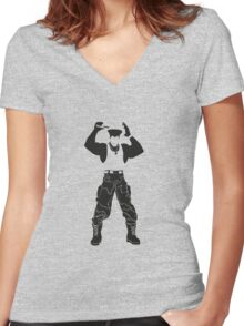 Guile Women's Fitted V-Neck T-Shirt