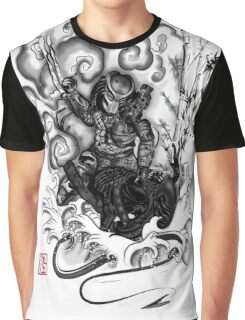 The Hunter and the Demon Graphic T-Shirt