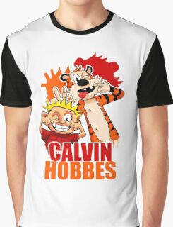 Calvin and Hobbes Time Graphic T-Shirt