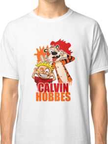 Calvin and Hobbes Time Classic T-Shirt