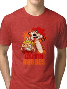 Calvin and Hobbes Time Tri-blend T-Shirt