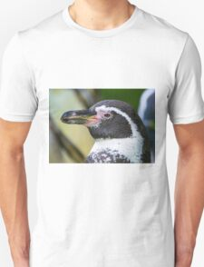 penguin close up head shot, animal , animals Unisex T-Shirt