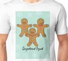 Gingerbread Squad. Unisex T-Shirt