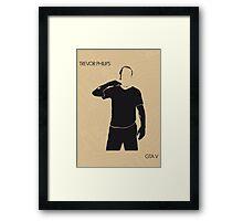 Trevor Framed Print