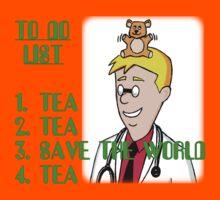 Tea, Tea, Save The World, Tea. Kids Tee