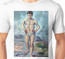 1885 - Paul Cezanne - The Bather Unisex T-Shirt