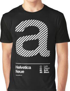 a .... Helvetica Neue Graphic T-Shirt